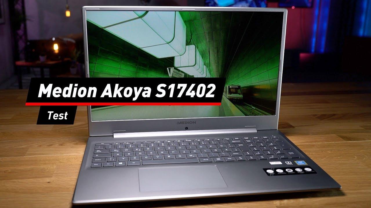Medion Akoya S17402: Aldi-Notebook im Test!