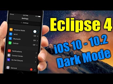 Eclipse 4 - IOS 10 - 10.2 Jailbreak Tweak