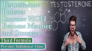 Testosterone Booster - 3rd Formula [Affirmation Frequency] - INSTANT RESULTS