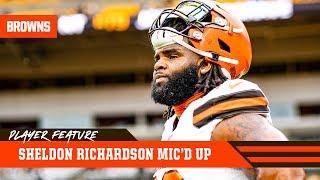 Sheldon Richardson Mic'd Up vs. Steelers 'Keep Going' | Cleveland Browns thumbnail