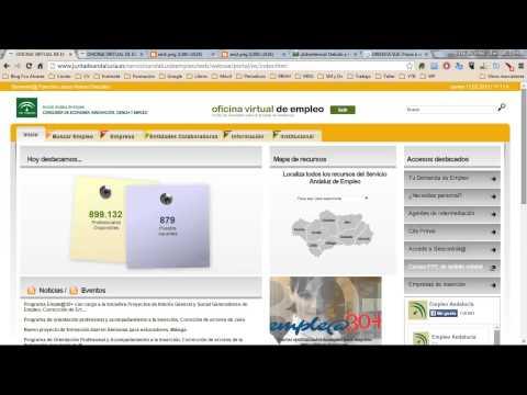 Renovar demanda empleo en Andalucía from YouTube · Duration:  1 minutes 49 seconds