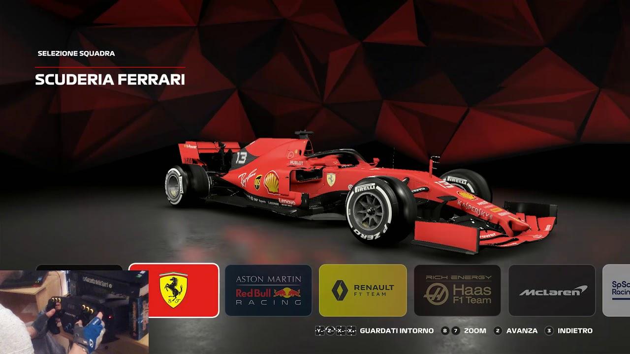 F1 2019!!! Hands On -Driver Select -Menue Setup -Graphics & Wheel Settings