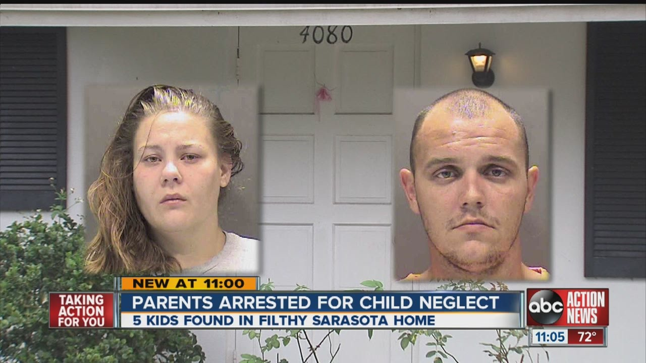 Couple arrested after kids found in filthy home