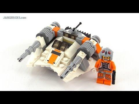 Lego star wars microfighters snowspeeder review set 75074 youtube - Croiseur interstellaire star wars lego ...