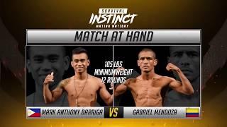 Mark Anthony Barriga vs. Grabriel Mendoza Highlights