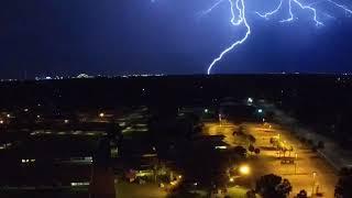 Heat lightning storm from 7/27/18 Jacksonville Florida
