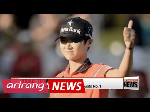 Rookie LPGA sensation Park Sung-hyun becomes new world No. 1