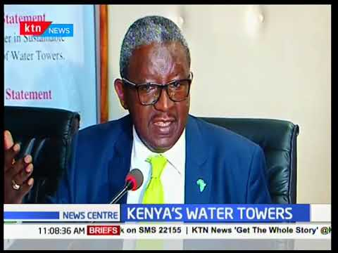 CS for water and enviroment Keriako Tobiko has urged Kenya Water Towers Agency to tame corruption
