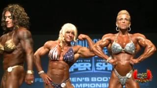2013 Toronto Pro Super Show PoseDown Women's Bodybuilding