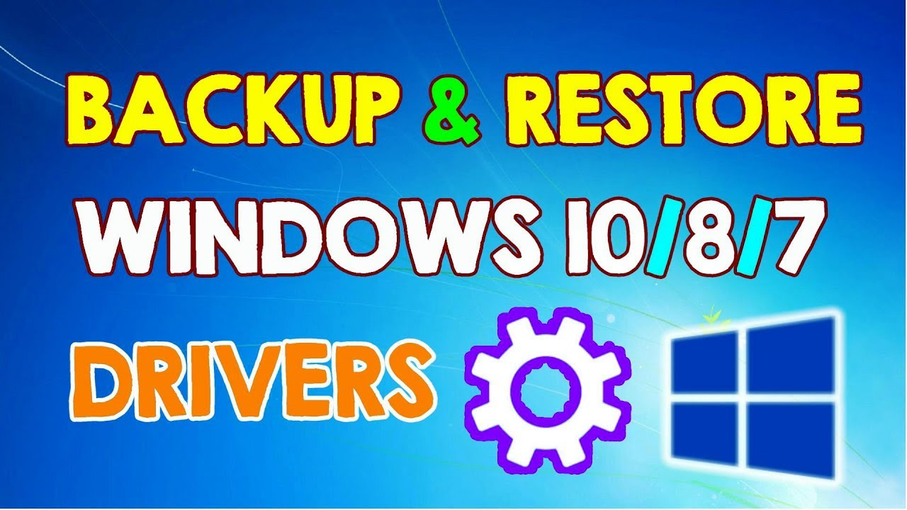 driver backup tool windows 10