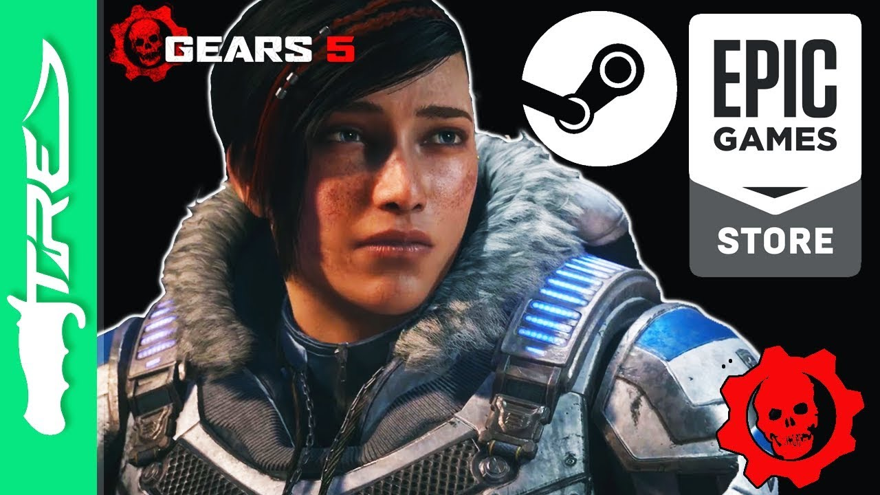 Gears of War 5 Launching on STEAM and EPIC GAMES Store? Gears of War and  Epic Games Together Again?