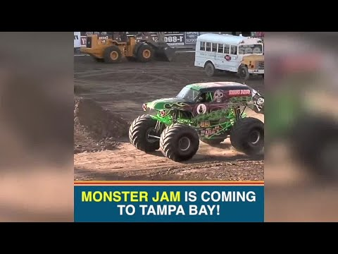 Monster Jam heads to Tampa this weekend   Taste and See Tampa Bay