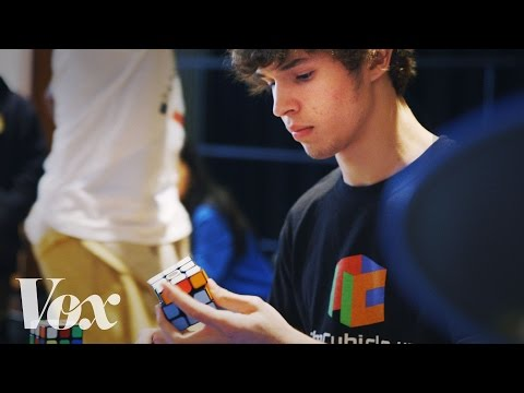 How a 15-year-old solved a Rubik's Cube in...