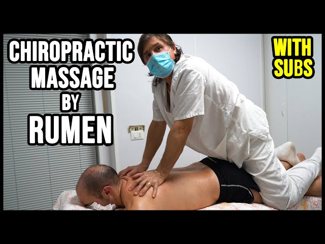 CHIROPRACTIC FULL BODY MASSAGE by RUMEN 💆 ASMR relaxing voice and whispers