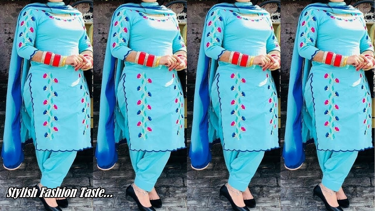 Punjabi Suit Design Images Patiala Salwar Suit Daily Wear Salwar Kameez Boutique Style Suit Youtube