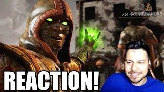REACTING TO MY FIRST MORTAL KOMBAT X RANKED VIDEO - Mortal Kombat X: