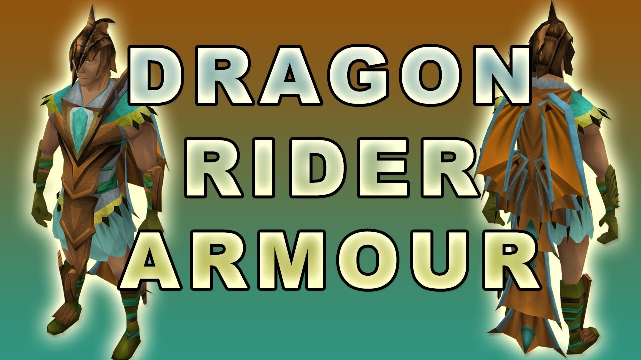 New Dragon Rider Armour - Lvl 70 Hybrid Prayer - YouTube