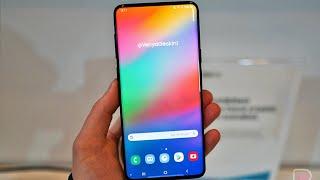 삼성의 첫 뉴 인피니티 디스플레이?  갤럭시A90