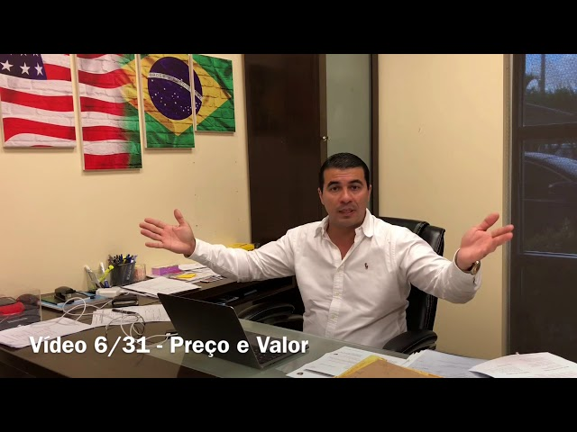 "Valor e Preço: Vídeo 6/31 Série ""O Poder do Marketing"" - Luis Miranda USA"
