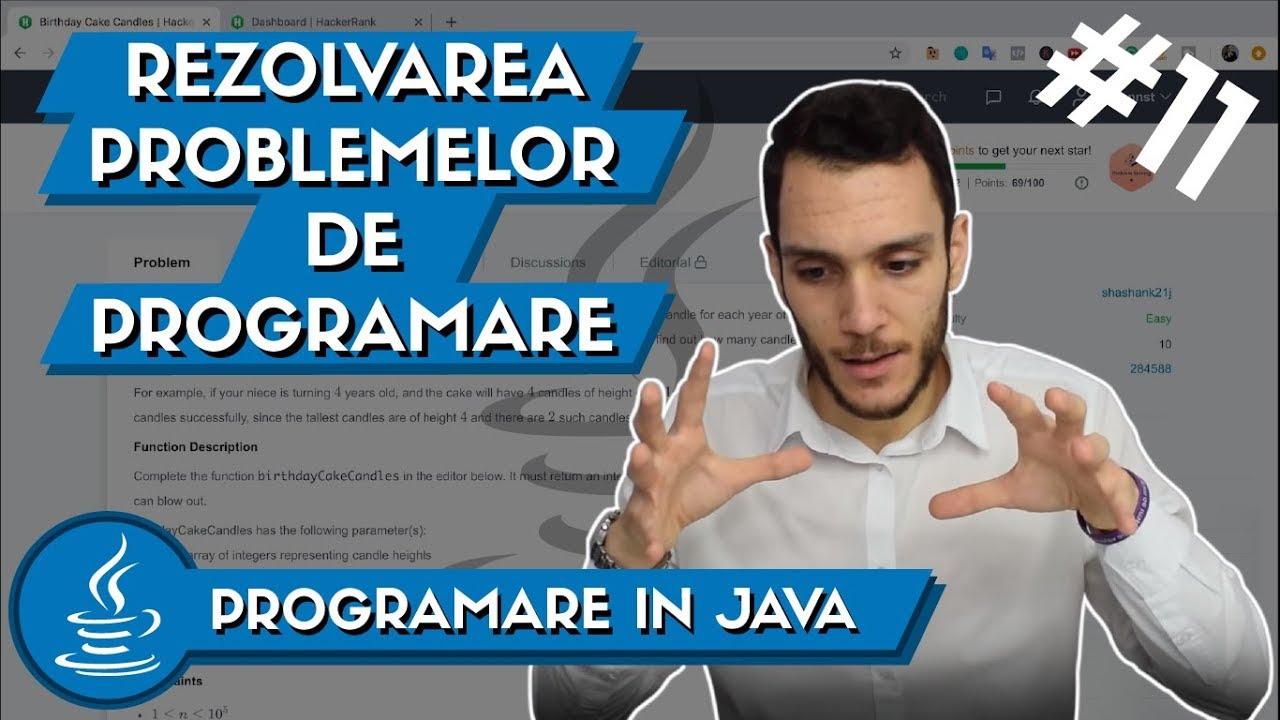 ⚠ Cum sa Rezolvi si sa Analizezi o Problema de Programare | Programare in Java #11
