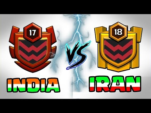 🔥 LIVE | INDIA VS IRAN 🔥 CLAN WAR BATTLE || Clash Of Clans LIVE