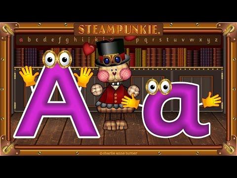 Английский письмо 'A' песня