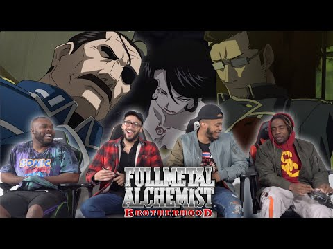Fuhrer Bradley Is Fishy! Full Metal Alchemist Brotherhood Episode 10 REACTION/REVIEW