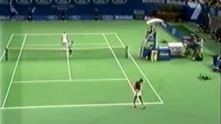 Jelena Dokic vs Lindsay Davenport 2001 Aus Open Highlights