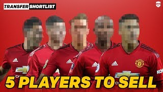 5 Players Ole Gunnar Solskjaer Needs To Sell | Manchester United Transfer Shortlist