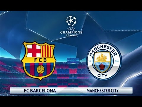 Barcelona vs Manchester City | UEFA Champions League 2018 Final | PES 2018 Gameplay HD