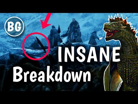 Game of Thrones S7 Winter Is Here Trailer Breakdown #2 (Insane)