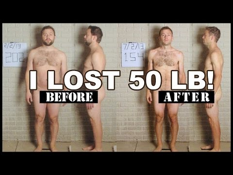 man-loses-50-pounds---time-lapse-video