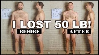 Man Loses 50 Pounds - Time Lapse Video
