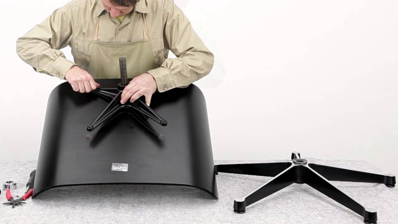 How To Replace Eames Lounge Chair Seat Support Cross