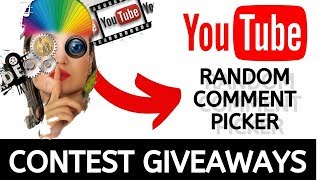Youtube Random Comment Picker Generator (Free Giveaways) + How To Legally Run a Contest on YouTube