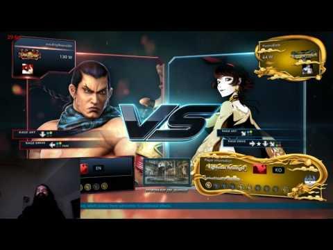 Aris Plays Tekken 7 Ranked - Fighting Your Own Waifu