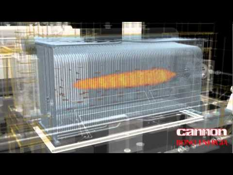 Cannon Bono Energia - Water Tube Steam Boiler - YouTube