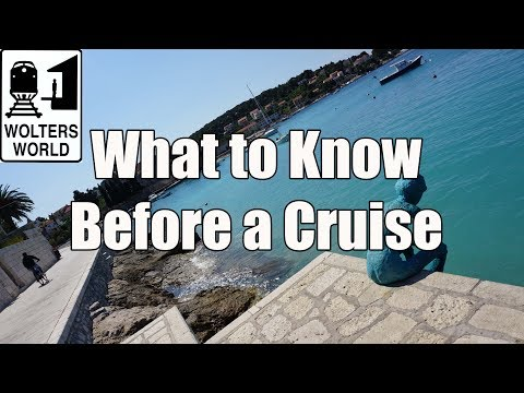 Cruise Travel - What You Should Know Before You Take a Cruise