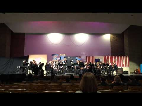 Loch Raven High School Symphonic Winds - Special Concert - 2015 - Reverberations
