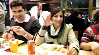Pizza Narenjestan-Caspian coast