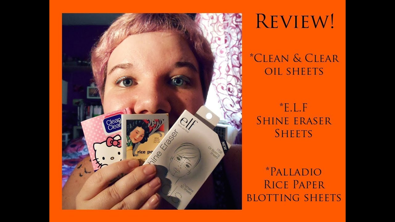 e.l.f. Mattifying Blotting Papers Reviews 2019