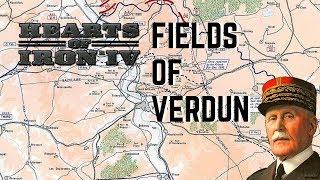 Battle of Verdun - WW1 HOI4 - Alternative History! Part 1 of 3