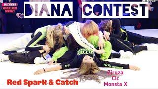 [DIANA WINTER CONTEST] Red Spark & Catch - SOS (Ziruza), Hobgoblin (Clc), Trespass (MonstaX)
