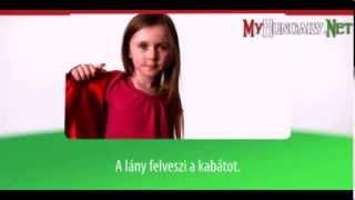 Видео уроки венгерского языка в картинках. Тема - Одежда и обувь