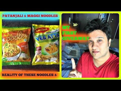 Maggi atta noodles vs patanjali atta noodles: Shocking Reality.