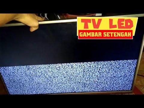 Tv Led Lg Gambar Setengah Lcd Gambar Separuh Tv Gambar Separo Solder Man Youtube