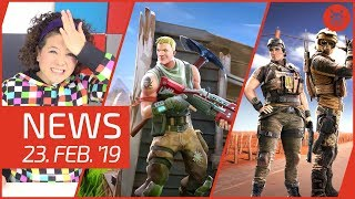 NEWS Fortnite Live - PUBG - Nintendo - Overwatch - Iratus - Rainbow Six Siege
