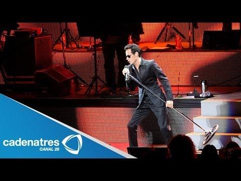 Marc Anthony se presenta con éxito en el Auditorio Nacional / Marc Anthony in the  Auditorium