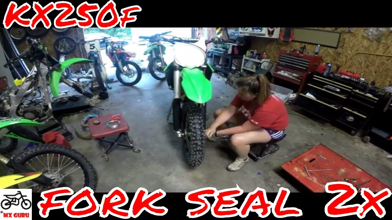 KX250f Fork Seal Rebuild 2x Run-Through ~ 2015 Kawasaki MX- Suspension