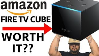 Amazon Fire TV  Cube. Is It Worth It? Alexa, Are You Listening?
